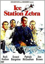 ICE STATION ZEBRA. Rock Hudson (1968). UK compatible. New DVD.
