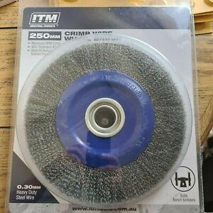 Wire Wheel Steel 250mm ITM