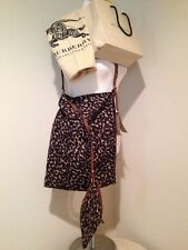 NWT BURBERRY Canvas Maguire TOTE Cross body Shoulder Bag Leopard $695