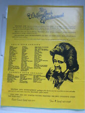 Wolfman Jack Entertainment list of artists press page