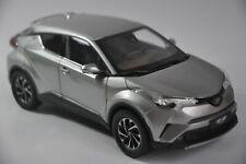 Toyota IZOA car model in scale 1:18 Silver