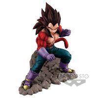 Box Distressed Dragonball Figure Statue 6 5/16in Vegeta Dokkan Battle Banpresto