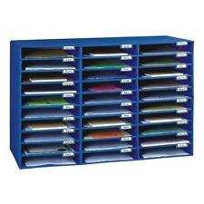 Office School Mail Box Sorter Desk Organizer 30 Slot Document File Paper Storage