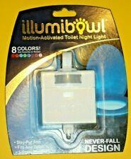 IllumiBowl Toilet Bowl Light - 8 Colors LED Motion Sensor Activated - Authentic