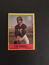 1967   PHILA FOOTBALL HIGH GRADE SET BREAK   #114   TOM  KENNEDY    NM-MT