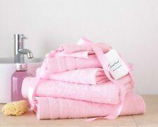 8Pc Towel Bale Set Baby Pink 100% Egyptian Cotton Face Hand Bath Bathroom Towels