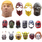 Adult Latex Full Head Mask Figure Cosplay Party Prop Fancy Dress Halloween Party