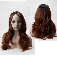Women 80cm Long Straight Wigs Cosplay Costume Anime Synthetic Hair Full Wigs rtw