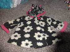 CORKY & COMPANY 12M 12 MONTHS BLACK GRAY WHITE FLORAL COAT