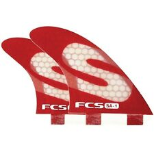FCS SA1 PC Surfboard Quad Fins NEW 4 fin set quads simon anderson