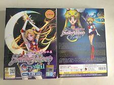 New Original Sailor Moon Crystal Vol. 1 - 26 End DVD + English Subtitle