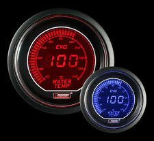 "Evo Series METRIC Water Temperature Gauge-Electric 52mm 2 1/16"" Red and Blue"