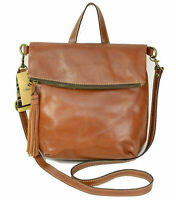 Patricia Nash Luzille NWT Tan Leather Convertible Backpack $229.00!