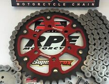 GSXR750 2011-16 Red Supersprox 520 16/45 Quick Accel Chain and Sprockets Kit