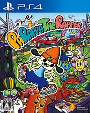 PARAPPA THE RAPPER  SONY PS4 JAPANESE NEW JAPANZON REGION FREE