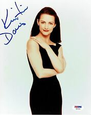 Kristin Davis Signed Sex in the City Authentic Auto 8x10 Photo PSA/DNA #Y47231