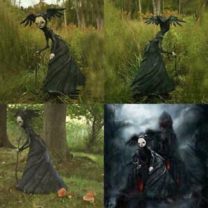 Nightmare Witch Resin Craft Patio Garden Home Statue Ornament Figurine Decor