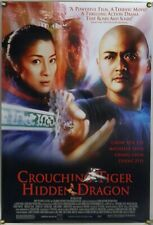 CROUCHING TIGER HIDDEN DRAGON DS ROLLED ORIG 1SH MOVIE POSTER CHOW YUN FAT 2000