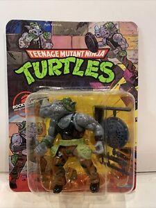 Teenage Mutant Ninja Turtles TMNT Vintage Playmates Rocksteady Action Figure