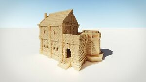 Wargame Scenery D&D Warhammer 25mm/28mm - Nobles House