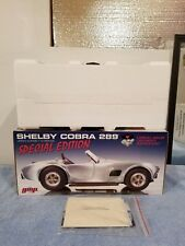 1:12 GMP Shelby Cobra AC 289 427 Carroll's Foundation BRAND NEW 1/500 SUPER RARE