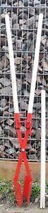 Lochspaten - Handbagger - Erdlochausheber - Größe 1 - 1 Ersatzstiel - Erdkralle
