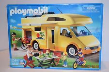 Playmobil 3647 Family Camper / Van, Age 4+, Boy or Girl, HTF, Rare, NIB