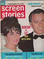 Screen Stories Mag Liz Taylor Elvis Presley December 1965 062919nonr