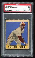 1948 Leaf #123 Clifford Fannin St. Louis Browns PSA 1.5