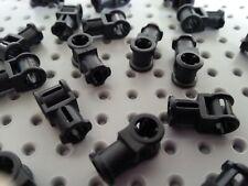 Lego Technic 10 liftarm mince plaque plane 1 x 2 W 2 Essieu trous gris clair//foncé