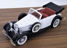 Mira 1/24 - Mercedes 500 K Spécial Roadster 1936 blanche et Noire