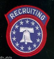 US Army Recruiting Command embroidered patch full color mint condition surplus