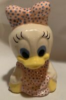 Vintage Daisy Duck Ceramic Figurine Vintage Disney Decor
