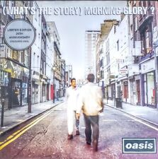 "OASIS - WHAT'S THE STORY MORNING GLORY - 2 LP SET SILVER COLORED VINYL "" NEW """