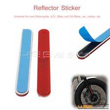 Red Reflective Sticker Front Fork Leg Reflectors Sticker Universal for Motocross