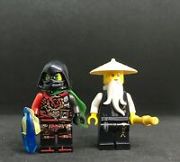 ACRONIX KRUX  + SENSEI-WU TOP LEGO NINJAGO BAG ARCADE DUO TOP