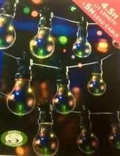 Set 10 Multi Coloured Multi Function Festoon Party Lights Copper Pin Wire LEDs