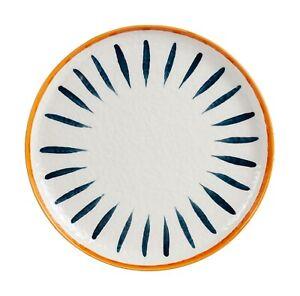 "D&F Hand Paint Under Glazed 10.5"" Dinner Plate, Serving Dish"