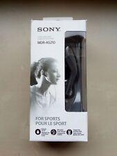 Sony MDR-AS210 Sports In-Ear Headphones - Black
