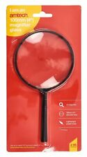 100Mm Magnifier Glass Magnifying Ratio X3 Handheld Loupe Reading Jewellery New