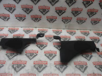 97-04 Chevrolet C5 Corvette Convertible OEM LH RH Quarter Trim Panels Black
