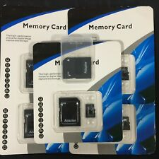 Mini SD Card 32GB 64GB 128GB 256GB 512GB Class 10 micro sd + Free Adapter LOT