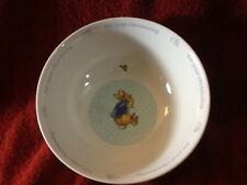 Nice 2002 PETER RABBIT WEDGWOOD CHRISTENING Bowl pre-owned CUTE MUST HAVE