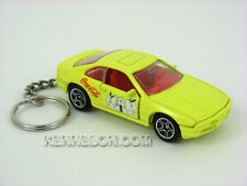 Custom Keychain BMW 850i Coca Cola Yellow