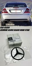 Mercedes CLK-CLASS (C209) GENUINE Gloss Black Rear Badge Star Logo Emblem AMG