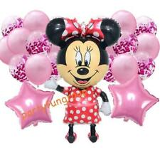 Minnie Mouse Balloons PINK Confetti balloon Set Party Supplies Premium Quality