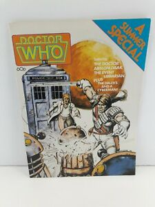 Doctor Who Summer Special 1987 NG Awesome Condition see photos