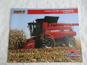 Case CASEIH 7088 6088 7120 8120 5088 9120 combine brochure 36 pages