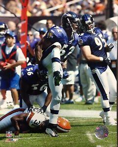 RAY LEWIS Celebration 8X10 ACTION PHOTO Baltimore Ravens