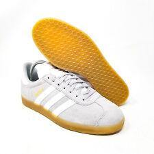 ADIDAS GAZELLE DA8873 GREY WHITE GUM Soccer Handball Sneaker Shoes Futbol Casual
